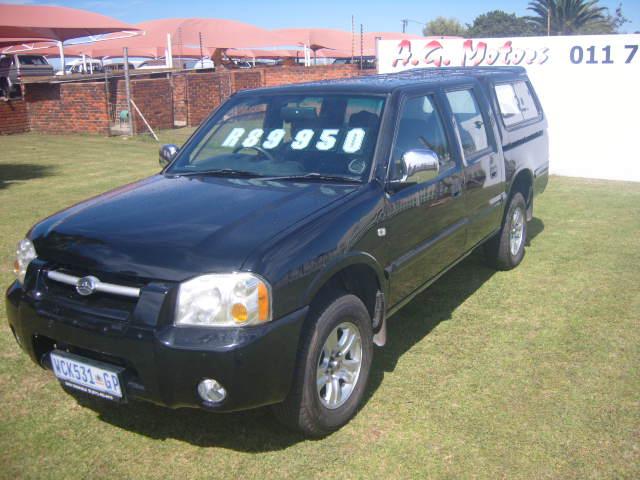 2007- GWM STEED D/C 2.2 – R89950.00