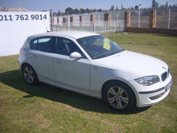 2008 – BMW 1 SERIES 116I – R89950.00