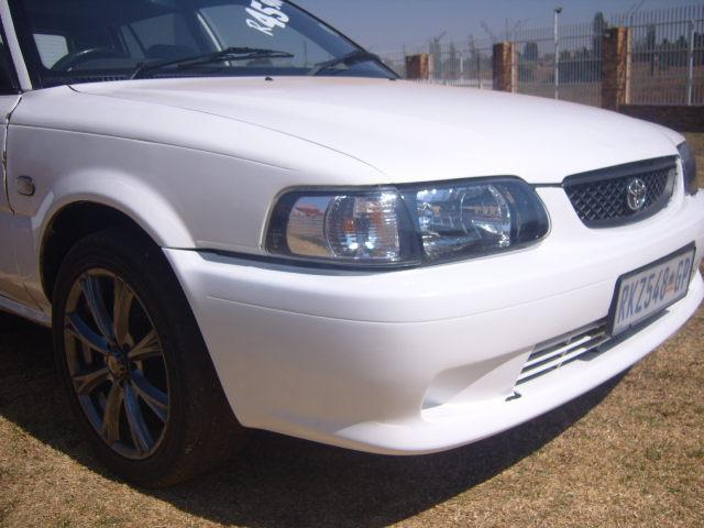 2002 – Toyota Tazz 130 – R45900.00